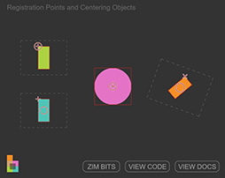 Registration Points and Centering - ZIM Bits