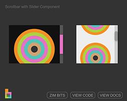 Scrollbars with Sliders - ZIM Bits