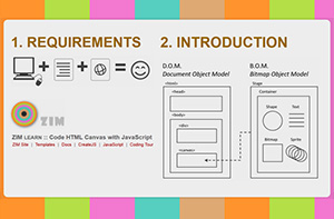 ZIM js - JavaScript Interactive Media Modules - ZIM