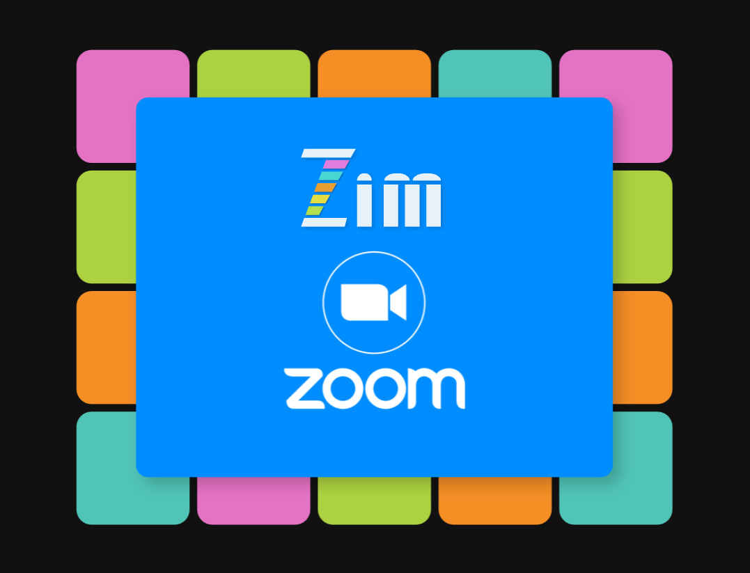 ZIM ZOOM Meets for JavaScript HTML Canvas Coding